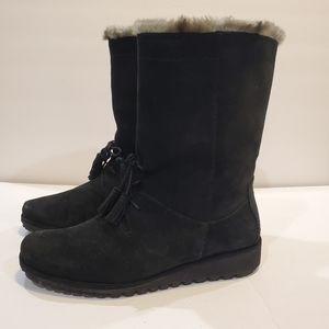 Stuart Weitzman fur lined boots size 7.5